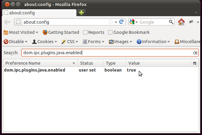 dom.ipc.plugins.java.enabled til True i Firefox