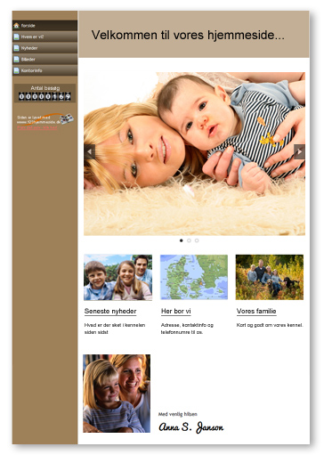 gratis hjemmeside med google sites